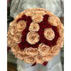 Örök rózsa nagy henger dobozban