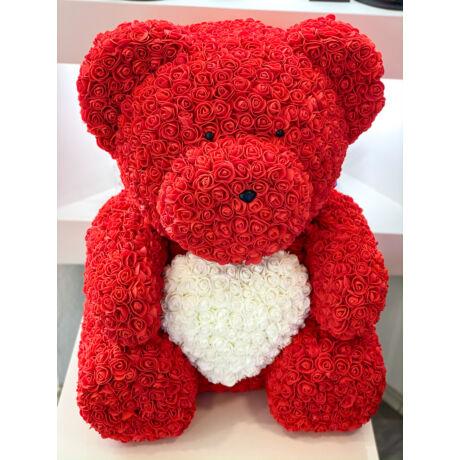 The Roseland Company piros óriás Virágmaci szívvel
