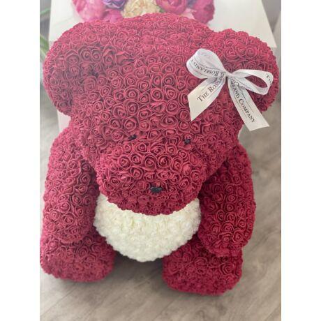 The Roseland Company vörös óriás Virágmaci szívvel