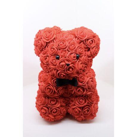 The Roseland Company vörös Virágmaci masnival