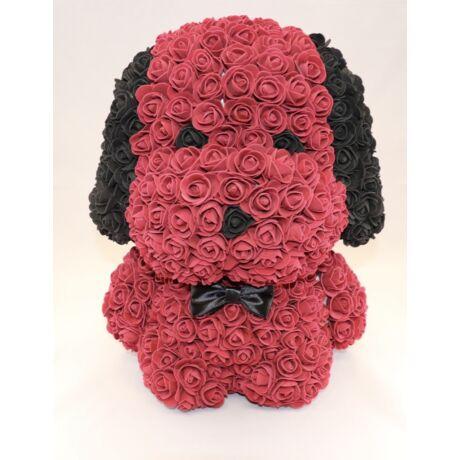 The Roseland Company nagy piros Virág kutya