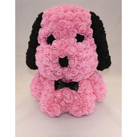The Roseland Company nagy rózsaszín Virág kutya