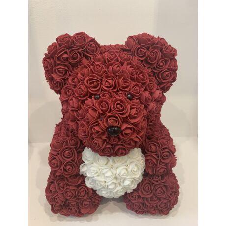 The Roseland Company nagy vörös Virágmaci szívvel