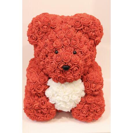 The Roseland Company nagy piros Virágmaci szívvel