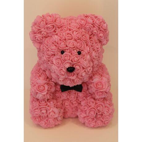 The Roseland Company nagy rózsaszín Virágmaci masnival
