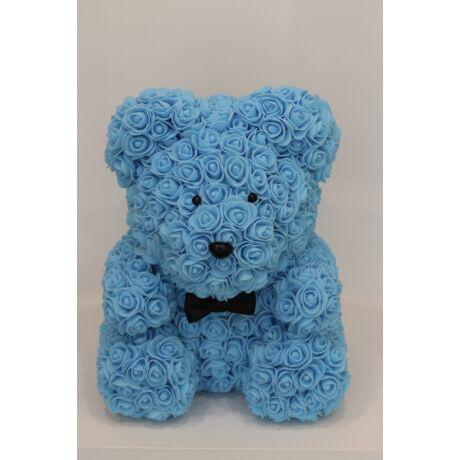 The Roseland Company nagy kék Virágmaci masnival