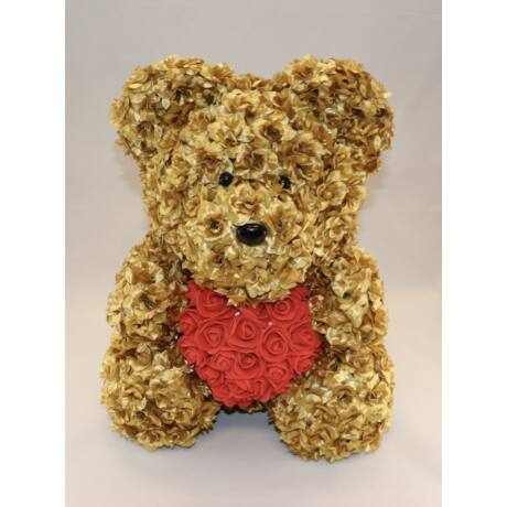 The Roseland Company nagy arany Virágmaci szívvel